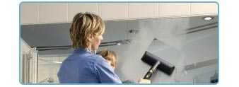 Steam Vapor Cleaning Machine - Cleaning Mirrors