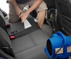 Air Mover Drying Upholstery