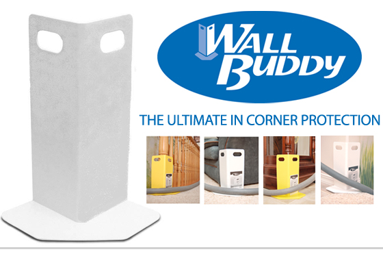 Wall Buddy Corner Guards for Carpet Cleaners