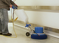 commercial baseboard cleaning machine