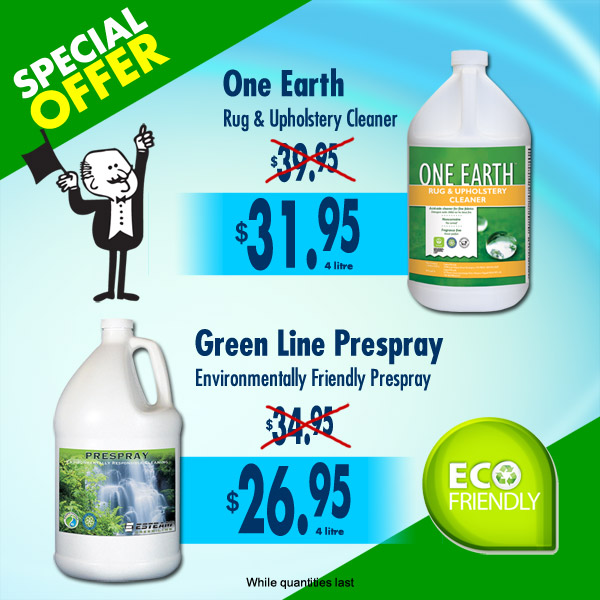 Environmentally Friendly Carpet Cleaning Products