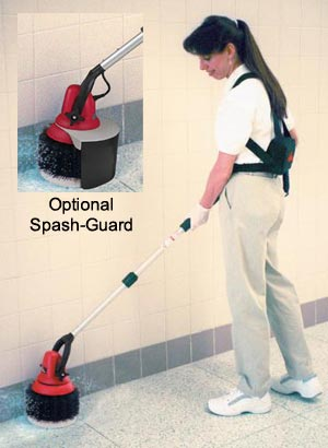 Optional Splash Guard Attachment