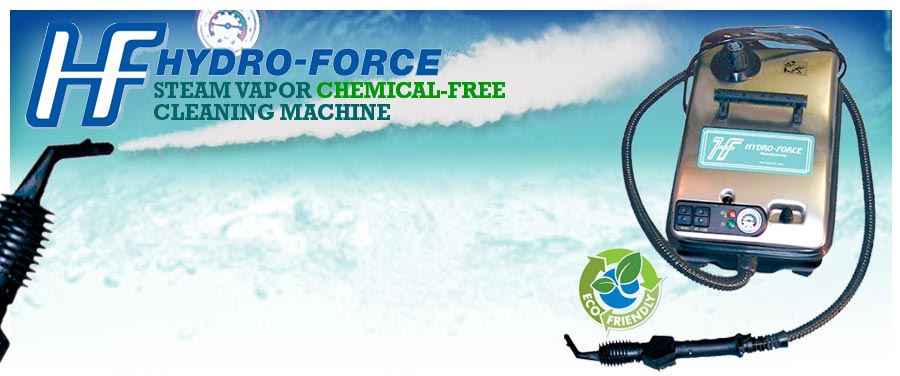 Hot Steamer Cleaning Machine - Hydro-Force