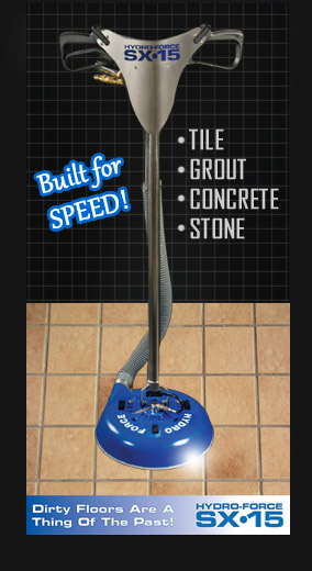 Hydro-Force Tile, Grout, Concrete, Stone Cleaner