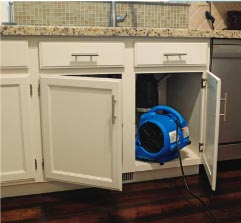 Air Mover Drying Cupboards