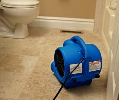 Air Mover Drying Floors