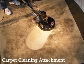 Rotovac 360i Carpet Cleaning Attachment