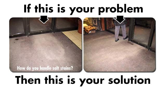 Winter Salt Stain Remover for Carpets