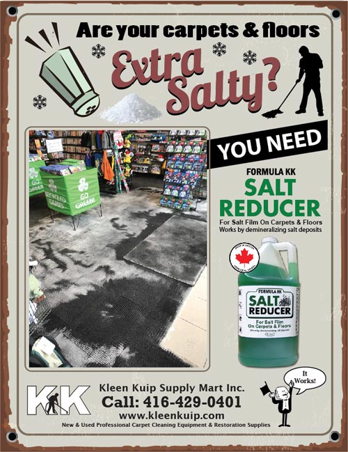 Winter Salt Stains Removal for Carpets and Flooring