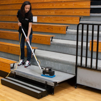 Cleaning Gymnasium Floors - Tomcat Nano Edge