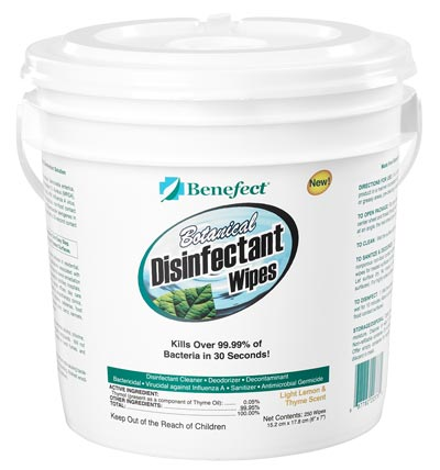 Benefect Disinfectant Wipes