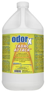 OdorX Tabac Attack for Tabacco and Cannabis Odor Removal