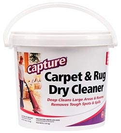 Capture Carpet and Rug Dry Cleaner