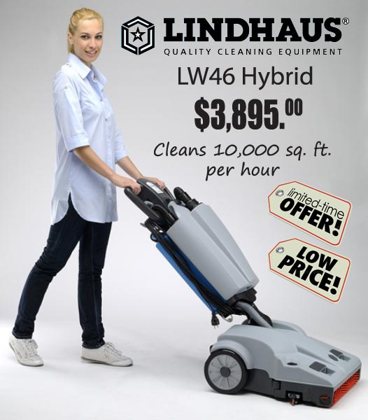 Lindhaus LW46 Hybrid Floor Cleaning Machine Sale