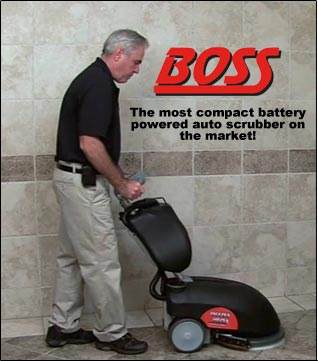 Gloss Boss Floor Cleaning Machine