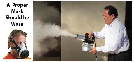 Alternative: Dry Vapour Fogging (Rental to Contractors Only)