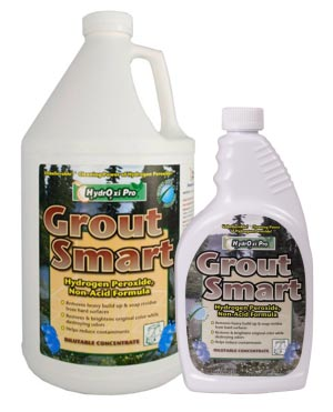 Tile and Grout Cleaning Product - Grout Smart - Hyrdroxi Pro