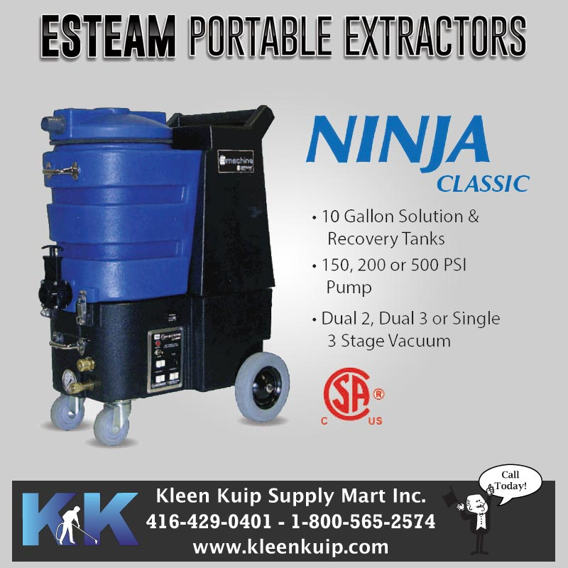 The best carpet cleaning machines - esteam ninja classic