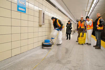 commercial floor cleaning baseboards