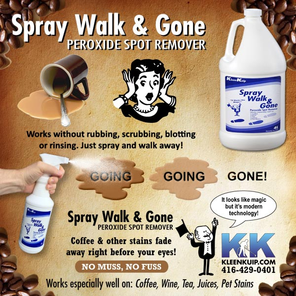 coffee stain remover carpet upholstery