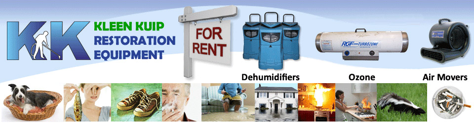 water flood damage equipment rentals basement floods dehumidifiers ozone hydroxyl generators toronto gta