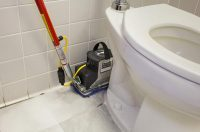 commercial bathroom floor cleaning stalls urinal machine toronto