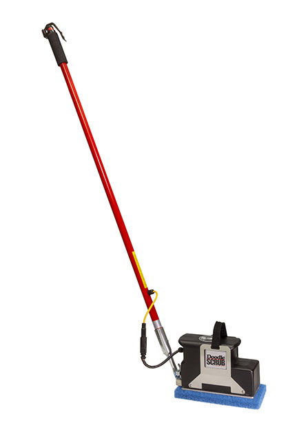 Bathrrom Floor Tile & Grout Cleaning Machine - Doodle Scrub